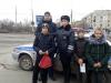 Городская акция Вместе с родителями за безопасность детей на дорогах в Красноармейском районе Волгограда